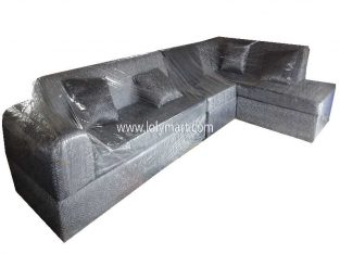 Modern Fabric 3 Sofa Couch Set Living Room Furnit
