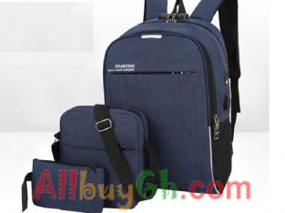 3 IN 1 ANTITHEFT BACKPACK