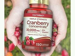 CRANBERRY Capsules 30,000mg With Vitamin C