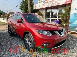 Nissan Rogue SL AWD 2016 Red