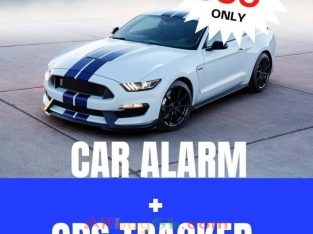 Car Tracker and Car Alarm System